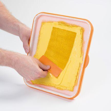 Tavă de vopsit cu sistem antiscurgere Magic Paint Tray