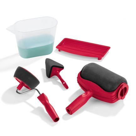 Trafalet cu rezervor integrat și accesorii de vopsit PaintMaxx Pro
