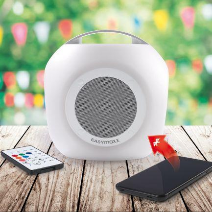 Boxă portabilă cu lumini multicolore LED Music Box